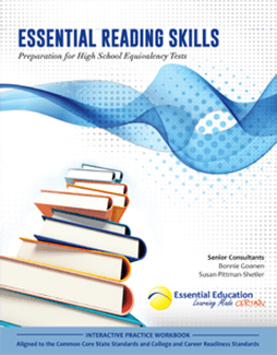 Books to pass the GED, HiSET, and TASC and make change in